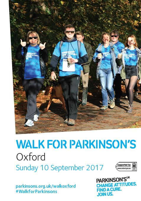 Walk for Parkinson's - Oxford